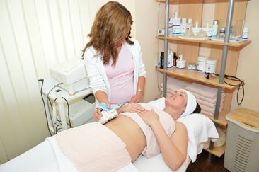 Cellulite Behandlung mit Ultraschall